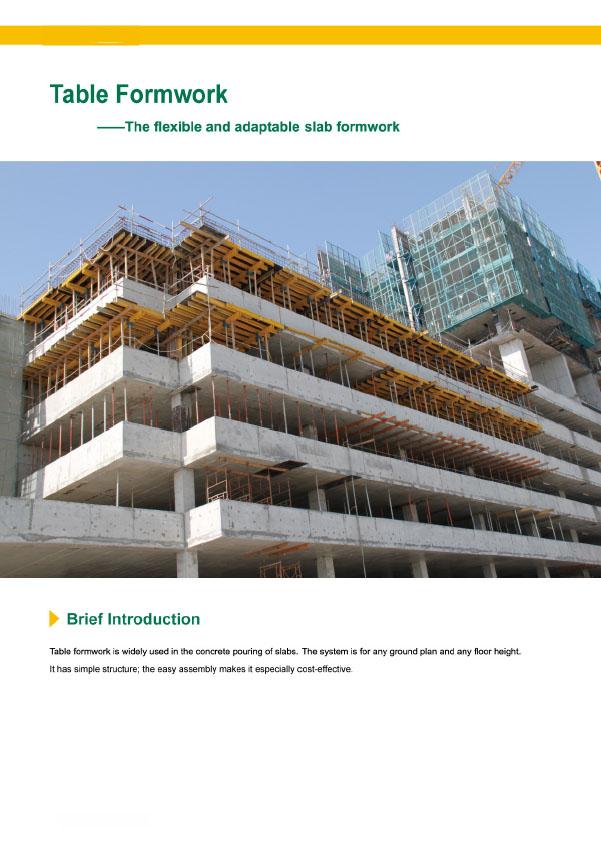 timber beam slab formwork 4